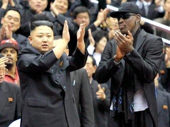 Баскетболист Деннис Родман проговорился о новорожденной дочери Ким Чен Ына