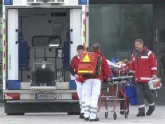 В Германии школьный автобус столкнулся с легковушкой: пострадали 30 детей