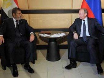 Путин впервые встретился с президентом Египта – встреча прошла у ванной