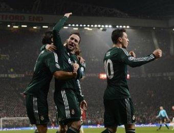 «Реал» выбил «Манчестер Юнайтед» из Лиги чемпионов