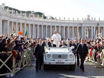 В Ватикане прошла церемония интронизации нового Папы Римского