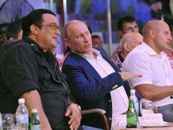 Стивен Сигал помог Путину справиться с самбистским окружением