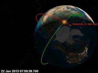 Второй раз в истории на орбите Земли столкнулись два спутника