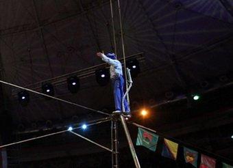 В Московском цирке во время выступления разбился акробат