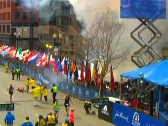 Очевидцы случайно засняли возможного террориста, взорвавшего бомбы в Бостоне