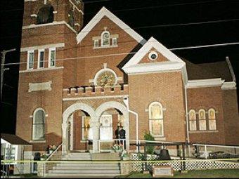 В США мужчина с ножом устроил резню в церкви