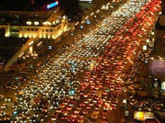 Москву назвали городом с самыми худшими пробками в мире