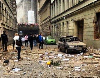 Мощный взрыв произошел в центре Праги: 4 погибших, около 50 раненых