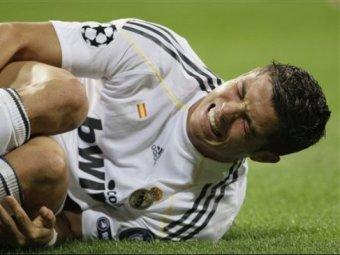 """Роналду выбыл из """"Реала"""" перед важнейшим матчем"""