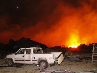 Взрыв на заводе в Техасе: 35 жизней погибших