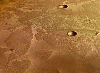 """На поверхности Марса разглядели гигантскую """"непристойность"""""""