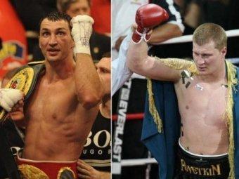Бой между Кличко и Поветкиным состоится в Москве
