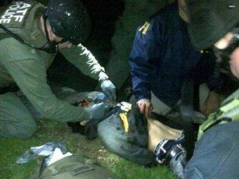 Обнародовано видео захвата бостонского террориста Джохара Царнаева