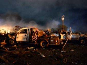 """СМИ: взрыв в Техасе прогремел накануне 20-летней годовщины гибели членов секты """"Ветвь Давидова"""""""
