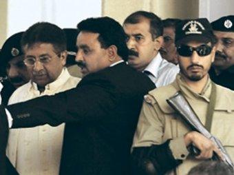 В Пакистане арестован сбежавший из суда экс-президент страны Первез Мушарраф