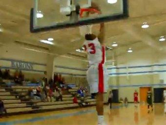 Баскетбольный вундеркинд стал хитом Интернета