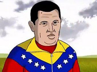 В Венесуэле сняли мультфильм об Уго Чавесе в раю