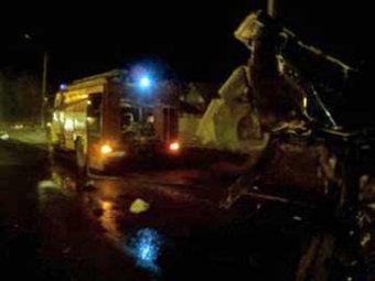 Страшная авария под Владимиром: восемь человек сгорели заживо
