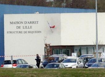 Во Франции зек сбежал из тюрьмы, взорвав стену камеры