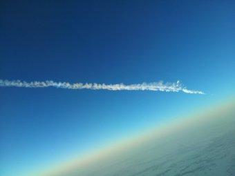 Очевидцы: под Санкт-Петербургом упал метеорит