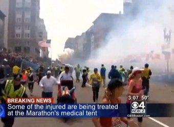 Взрывы на Бостонском марафоне 2013: хроника событий, подробности, версии теракта (ВИДЕО)