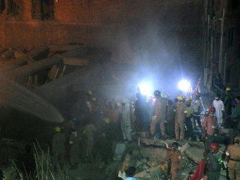 Найденая через 5 дней под завалами дома женщина погибла в пожаре