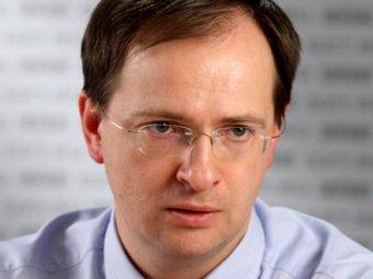 """Блогеры: министр культуры Мединский предпочитает слушать """"блатняк"""""""