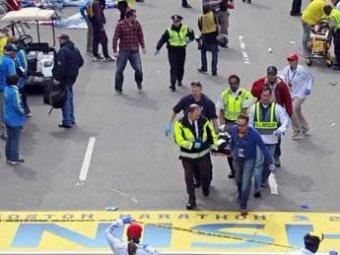 Обнародованы фото и видеокадры из Бостона: на них сумка с бомбами и убегающий человек