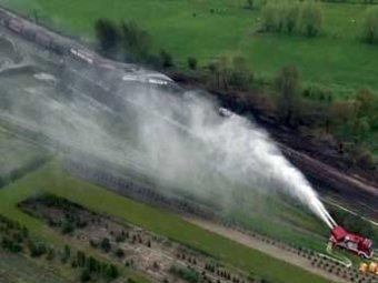 В Бельгии по вине лихача-машиниста взорвался поезд с цианидом: 2 погибли, 49 ранены