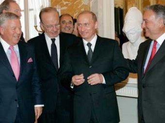 Шутка юмора: миллиардер обвинил Путина в краже перстня