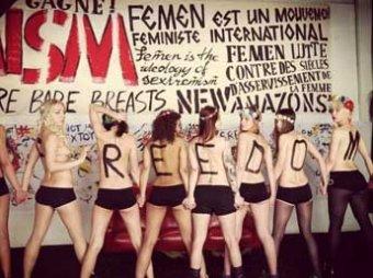Facebook заблокировал страницу FEMEN за порнографию и пропаганду проституции