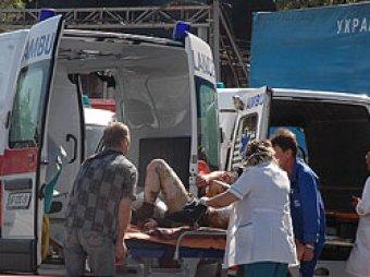 В Крыму 40 россиян на автобусе попали в ДТП