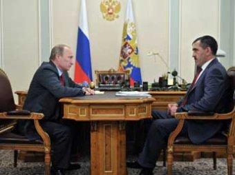 Глава Ингушетии Евкуров подал в отставку