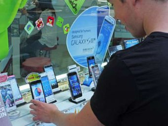 Samsung обогнала Apple на мировом рынке смартфонов