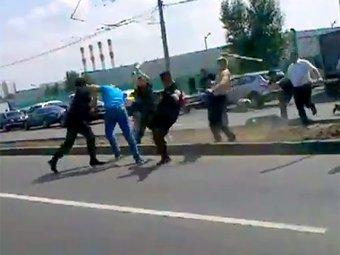 В Москве охранники ТЦ подрались с кавказцами
