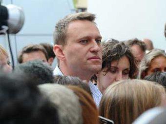 Навальный отделался устным предупреждением от Мосгоризбиркома