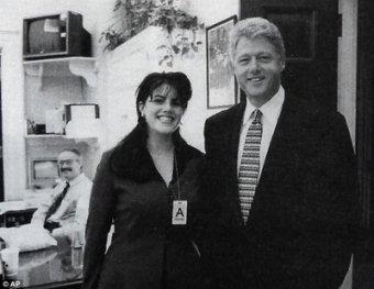 """""""Я сняла бы всю одежду"""" – рассекречена запись соблазнения Клинтона Левински"""