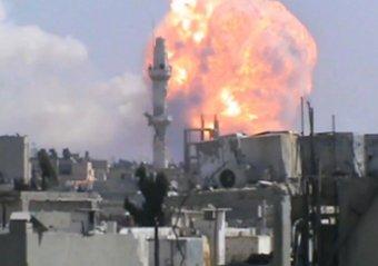 Не менее 40 человек погибло в результате серии взрывов в сирийском городе Хомс