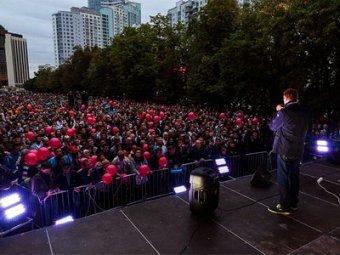 Видео задержания Навального в Сокольниках появилось в Сети