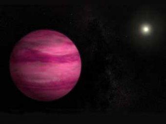 Японские астрономы обнаружили загадочную розовую планету