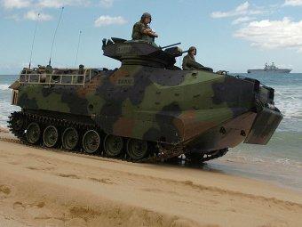 Япония создаст подразделение десантных машин-амфибий