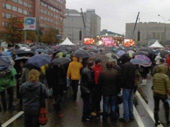На митинг в поддержку Навального пришли от 2 до 15 тысяч человек