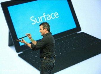 Второе поколение планшетов Surface представила Microsoft
