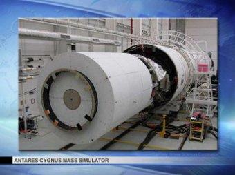 Частный космический грузовик Cygnus впервые отправился к МКС