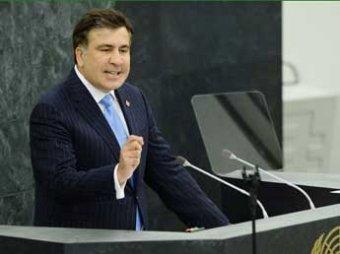 Скандал: во время выступления Саакашвили российская делегация покинула зал
