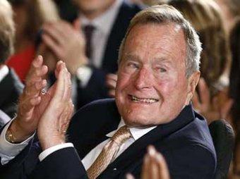 Джордж Буш-старший стал свидетелем на лесбийской свадьбе