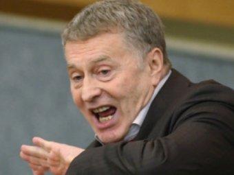 Жириновский с трибуны Госдумы пообещал дать в морду коммунисту Заполеву