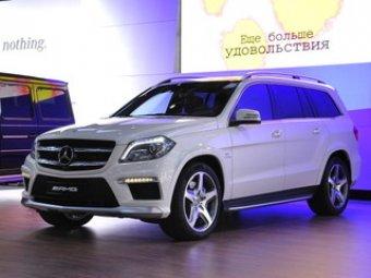 Из автосалона в Москве угнали Mercedes GL63 AMG за 7,7 млн рублей