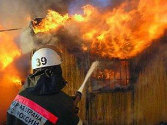 В Хабаровске загорелась колония