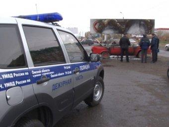 В Омске бомж заживо сгорел внутри рекламного автомобиля